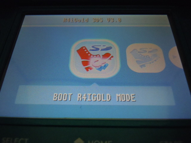 ri022 R4iGold3DS Deluxe editionファームウエア3.0の改造方法案内
