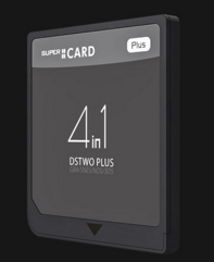 SUPERCARD  DSTWO PLUS マジコン(3DS、DS、GBA、SFCゲームサポート)
