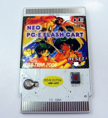 NEO Power PC-E 128M+SAVE super flash cart