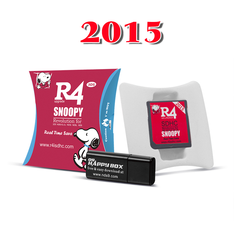 2015R4iSDHC Snoopy (DSi v1.4.5J /3DS FW3DS 11.2.0-35Jに直接対応)