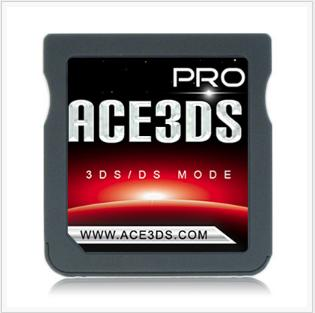 3DS LLマジコン:Ace3DS Pro(DS/3DSロム起動可能)