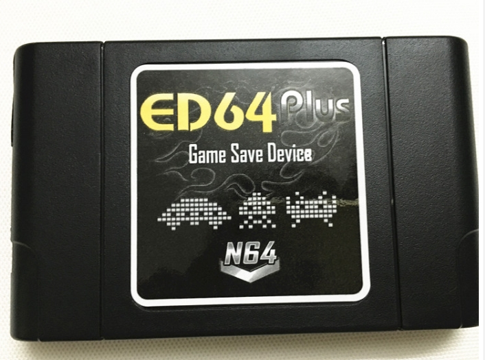 強化版N64マジコン ED64 PLUS GAME SAVE DEVICE