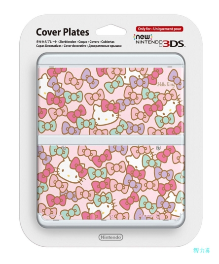 NEW 3DS用人気スキンシールHelloKitty