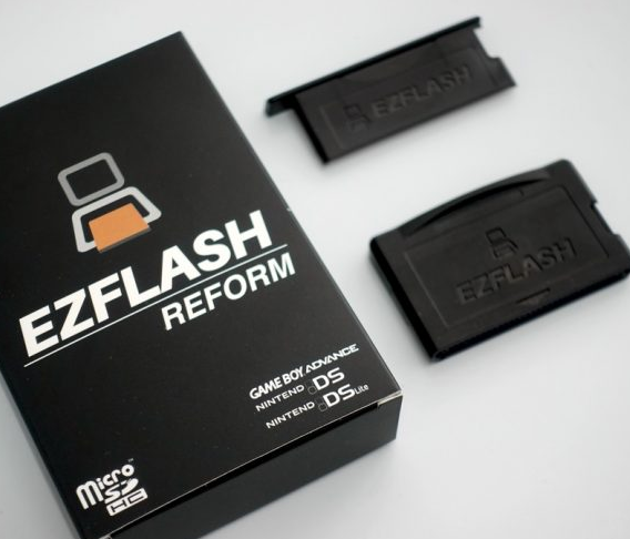 EZ-FLASH REFORM GBAマジコン GBA/SP/NDS/NDL対応